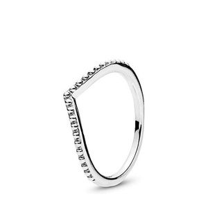 PANDORA Beaded Wish Ring, Sterling Silver, Size 5